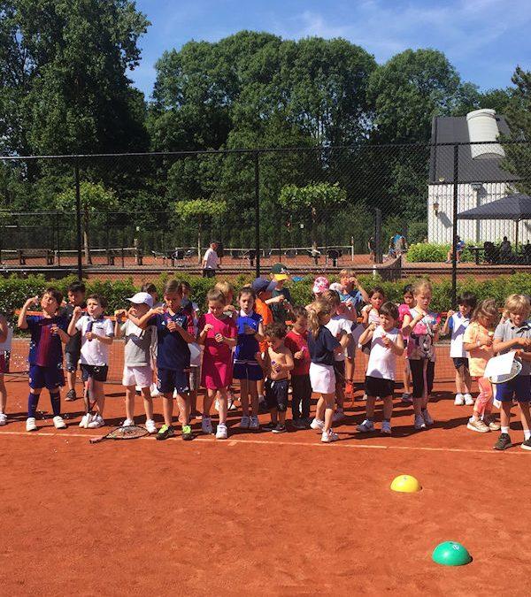 Extra Tenniskamp van 13 t/m 17 juli!
